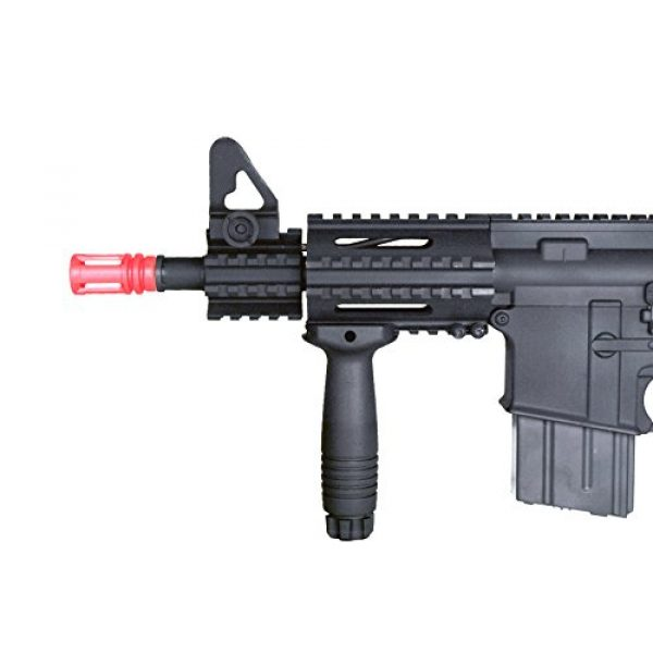 MetalTac Airsoft Rifle 2 MetalTac Electric Airsoft Gun M4 CQB 01 A&K with Full Metal Body, Metal Gearbox Version 2, Full Auto AEG, Upgraded Powerful Spring 380 Fps with .20g BBS