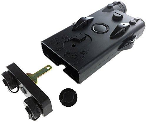 SportPro  4 SportPro Dboys Polymer PEQ-II Style Dummy Battery Box Type B for AEG Airsoft - Black