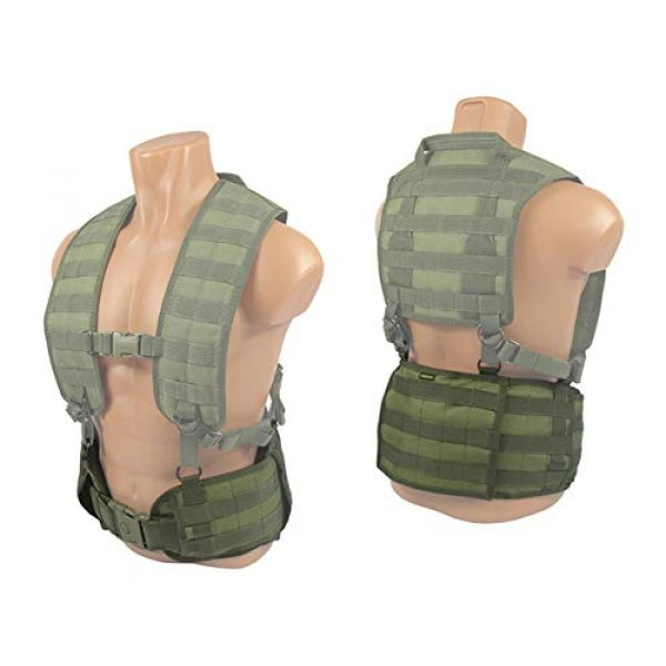 tactic.world Airsoft Tactical Vest 7 MOLLE Modular Tactical Belt molle Vest Chest rig Paintball Airsoft