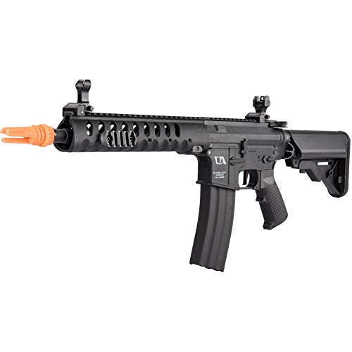 Lancer Tactical  7 Lancer Tactical Classic Army Skirmish Series Delta 10 M4 Airsoft AEG Rifle Black 350 FPS