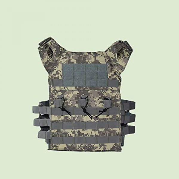 PJKKawesome Airsoft Tactical Vest 4 Chest Vest Airsoft Chest Protector Vest Outdoor Sports Body Armor for Outdoor Activities Free Size Multicolor