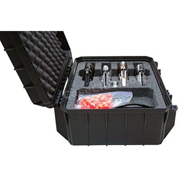 Case Club Pistol Case 2 Case Club 4 Revolver Waterproof Cases with Silica Gel to Help Prevent Gun Rust
