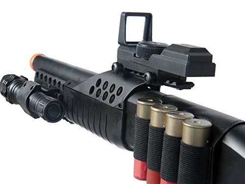 UKARMS  6 UKARMS Tactical Specialist RIS Spring Airsoft Shotgun FPS-320 w/Accessories