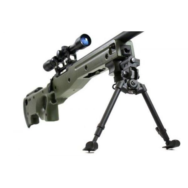 BBTac Airsoft Rifle 6 BBTac BT-96 Bolt Action Sniper Rifle w/ 3-9x Scope and Bipod - OD GREEN