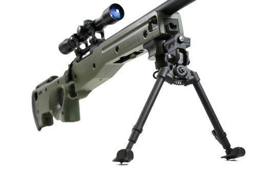 BBTac  6 BBTac BT-96 Bolt Action Sniper Rifle w/ 3-9x Scope and Bipod - OD GREEN