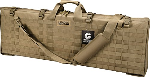 "Loaded Gear Rifle Case 1 Loaded Gear 40"" Rifle Tactical Rifle Gun Case Bag Unfolded to Become a Shooting Mat (Brown)"