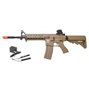G&G Airsoft Rifle 1 G&G Combat Machine 16 Raider-L Battery & Charger Combo