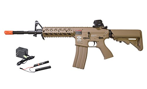 G&G  1 G&G Combat Machine 16 Raider-L Battery & Charger Combo