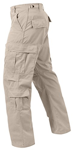 Rothco Tactical Pants 1 Ultra Force Vintage Paratrooper Fatigues - Stone - XX-Large