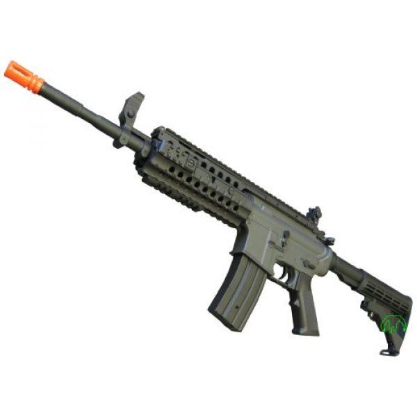 Jing Gong (JG) Airsoft Rifle 4 JG 2010 Version 432 FPS M4 S-System Metal Gear Electric Airsoft AEG