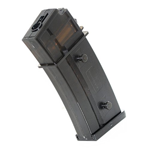 Airsoft Shopping Mall  1 Airsoft Shooting Gear 470rd Mag Magazine for Tokyo Marui G36 AEG Semi-Transparent Brown