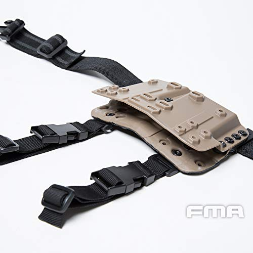 FMA  7 FMA Drop Leg Mag Carrier for Tactical Airsoft Hunting Game DE