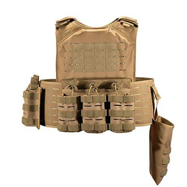 WEQ Airsoft Tactical Vest 3 WEQ CS Tactical Vest Modular Vest Outdoor Sports Camouflage Vest Combat Training Vest