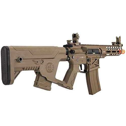 Lancer Tactical  6 Lancer Tactical Enforcer NEEDLETAIL Skeleton AEG Low FPS TAN
