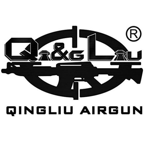 QI&GLIU QINGLIU AIRGUN Airsoft BB 5 QingLiu Airgun 0.20g Airsoft BBS - 5000 Rounds 6mm BBS - for Airsoft Guns Pistols Rifles AEGs