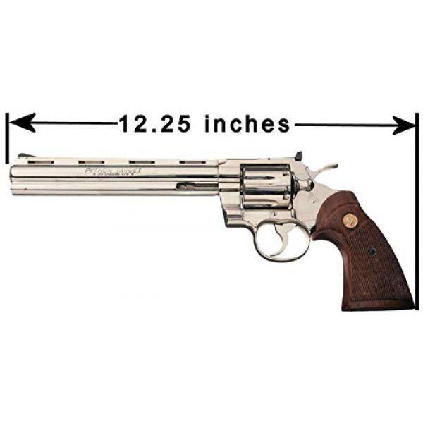 Case Club Pistol Case 5 Case Club 2 Revolver/Pistol Pre-Cut Top Loader Case with Silica Gel to Help Prevent Gun Rust