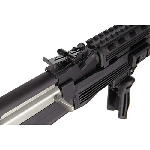 Lancer Tactical  6 Lancer Tactical Airsoft Full Metal AK-47 AEG Rifle LE Stock with Battery & Charger Black