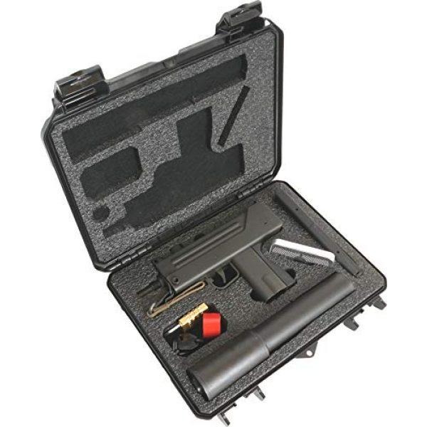 Case Club Pistol Case 3 Case Club MAC-10 Pre-Cut Waterproof Case with Silica Gel to Help Prevent Gun Rust
