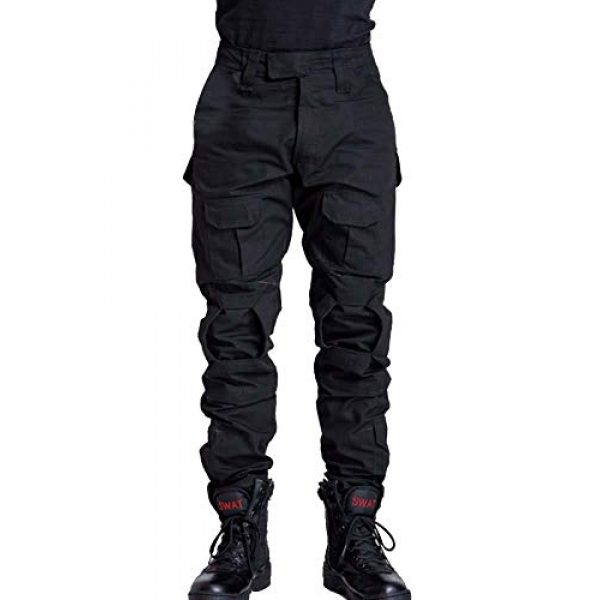AKARMY Tactical Pant 1 Men's Military Tactical Pants Casual Camouflage Multi-Pocket BDU Cargo Pants Trousers