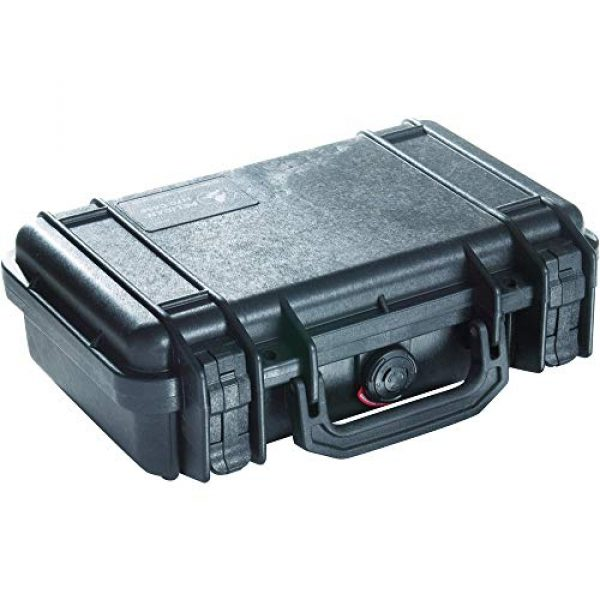 Pelican Pistol Case 1 Pelican 1170 Case With Foam (Black)
