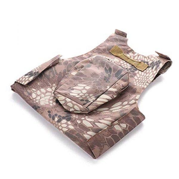 "Nuxn Airsoft Tactical Vest 2 Nuxn Kids Tactical Vest Black Lightweight Children Field Combat Training Protective Vest Adjustable Shooting Hunting Molle Clothes'""Children Camo Vest Jacket Waistcoat Camouflage Vest"