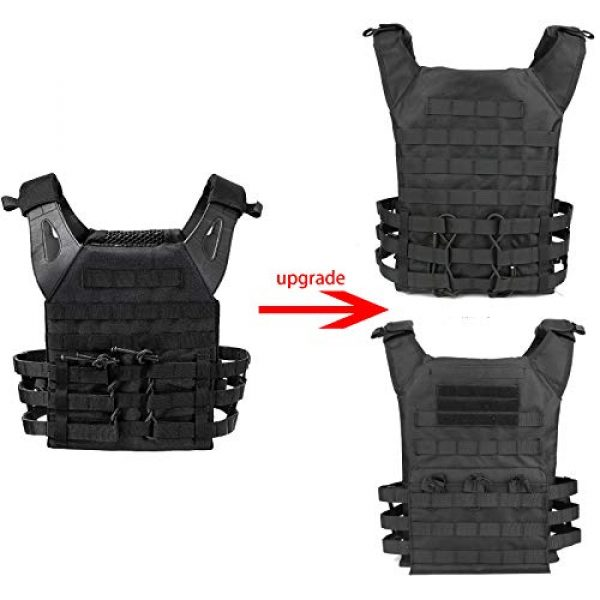 mimeng Airsoft Tactical Vest 3 Airsoft Tactical Vest Fishing Hunting Training Clothing Vest Outdoor Jungle Sports Equipment Accessories Jacket