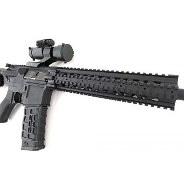 G&G Airsoft Rifle 4 G&G CM16 R8-L Combat Machine M4 AEG Airsoft Gun (Black) w/Red Dot Sight (Combo)