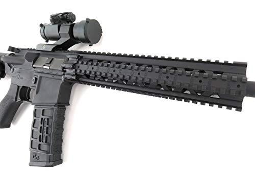 G&G  4 G&G CM16 R8-L Combat Machine M4 AEG Airsoft Gun (Black) w/Red Dot Sight (Combo)