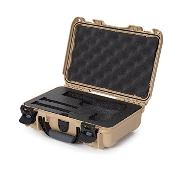 Nanuk Pistol Case 1 Nanuk Waterproof Hard Case for Revolvers with Custom 3UP Foam Insert