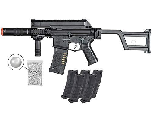 Wearable4U  1 Umarex Elite Force Amoeba AM-005 AEG Electric Automatic 6mm BB Rifle Airsoft Gun (Gen5) with Wearable4U Bundle