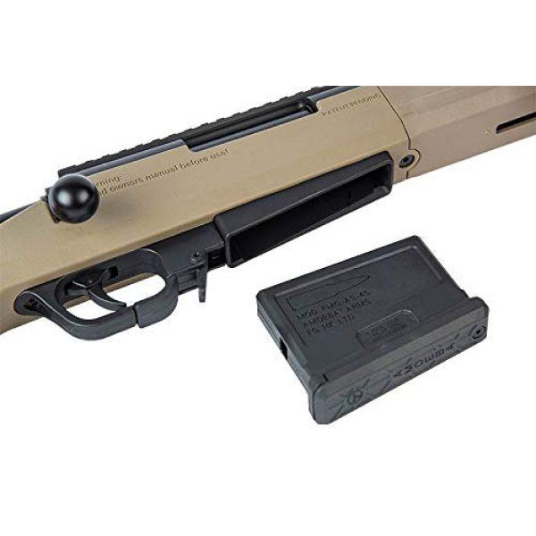 Elite Force Airsoft Rifle 3 Elite Force Amoeba AS-02 Striker Rifle 6mm BB Sniper Rifle Airsoft Gun, Dark Earth Brown