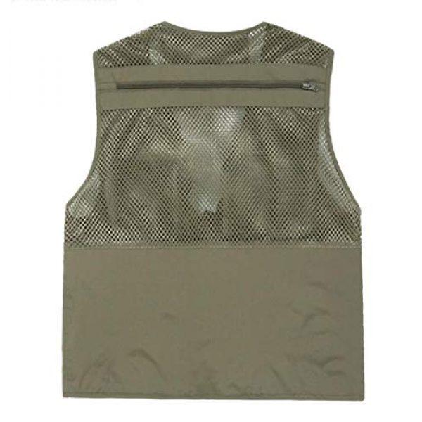 DAFREW Airsoft Tactical Vest 2 DAFREW Men's Vest Summer Fashion Breathable Sleeveless Shirt Quick-Drying Jacket Outdoor Leisure Multi-Function Vest (Color : Black, Size : XL)