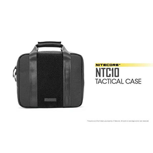 Nitecore Battery Case 7 Nitecore NTC10 Tactical Gear Carry case with EdisonBright BBX3 Battery case