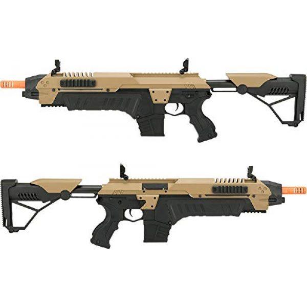 Evike Airsoft Rifle 3 Evike CSI S.T.A.R. XR-5 FG-1508 Advanced Airsoft Battle Rifle (Color: Tan)