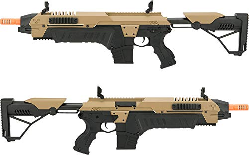 Evike Airsoft Rifle 3 Evike CSI S.T.A.R. XR-5 FG-1508 Advanced Airsoft Battle Rifle (Color: Tan)