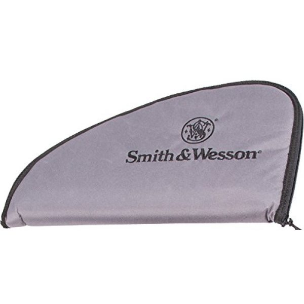 Smith & Wesson Pistol Case 1 M&P by Smith & Wesson Defender Handgun Case Single Padded Pistol Bag for Hunting Shooting Range Sports Storage and Transport