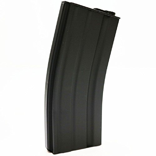 Airsoft Shopping Mall  1 Airsoft Shooting Gear E&C 70rd Mid-Cap Magazine for M-Series AEG Black
