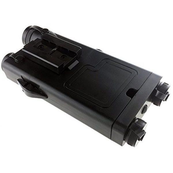 SportPro Airsoft Battery Box 7 SportPro Dboys Polymer PEQ-II Style Dummy Battery Box Type B for AEG Airsoft - Black