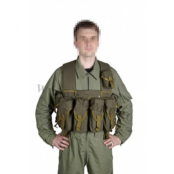 SSO/SPOSN Airsoft Tactical Vest 1 SSO/SPOSN Russian Military Lazutchik M Bags for Breast (Military Vest)