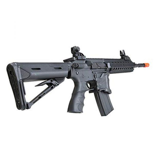 BULLDOG AIRSOFT Airsoft Rifle 5 Bulldog ST Delta L QD Airsoft Electric Gun AEG Rifle - Sportsline CQB Pro Series
