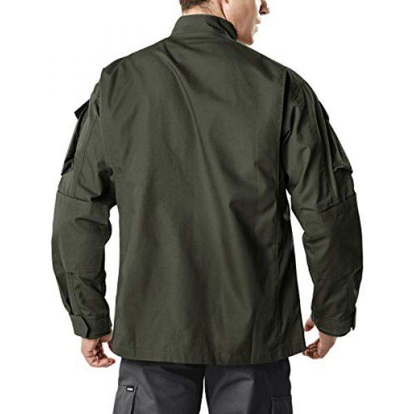 CQR Tactical Jacket 2 Men's Combat Military Jacket, Water Repellent Ripstop Army Fatigue Field Jacket, Outdoor EDC Tactical ACU/BDU Coat