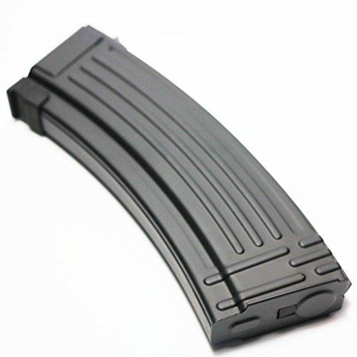 Airsoft Shopping Mall  1 Airsoft Shooting Gear CYMA 140rd Mid-Cap Metal Magazine for AK-Series AEG Black