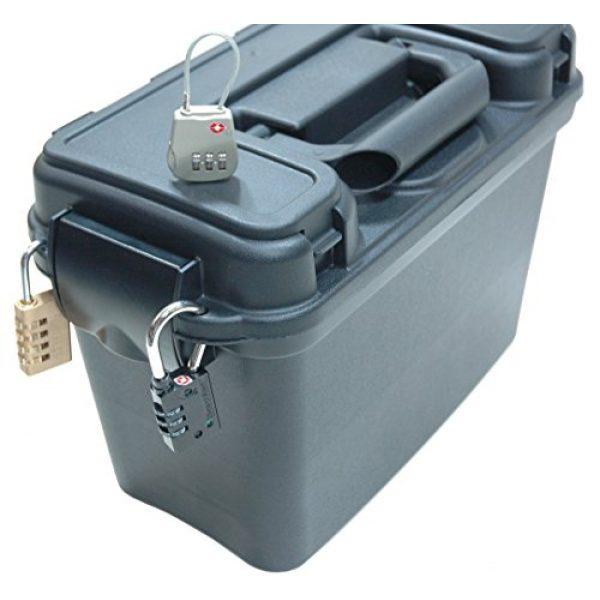 Case Club Pistol Case 3 Case Club 2 Revolver/Pistol Pre-Cut Top Loader Case with Silica Gel to Help Prevent Gun Rust