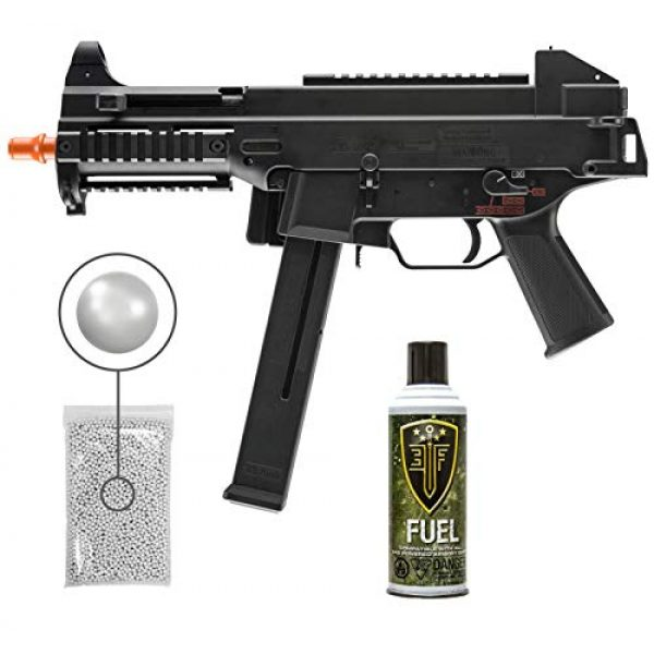 Wearable4U Airsoft Rifle 1 Umarex Elite Force HK UMP Elite Gen3 Automatic Green Gas 6mm BB Rifle Airsoft Gun, GBB with Wearable4U Bundle