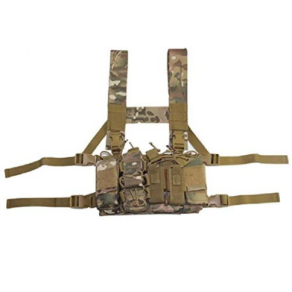 BGJ Airsoft Tactical Vest 1 BGJ Military Equipment Tactical Vest Airsoft Paintball Carrier Strike Chaleco Chest rig Pack Pouch Light Weight Heavy Duty Vest