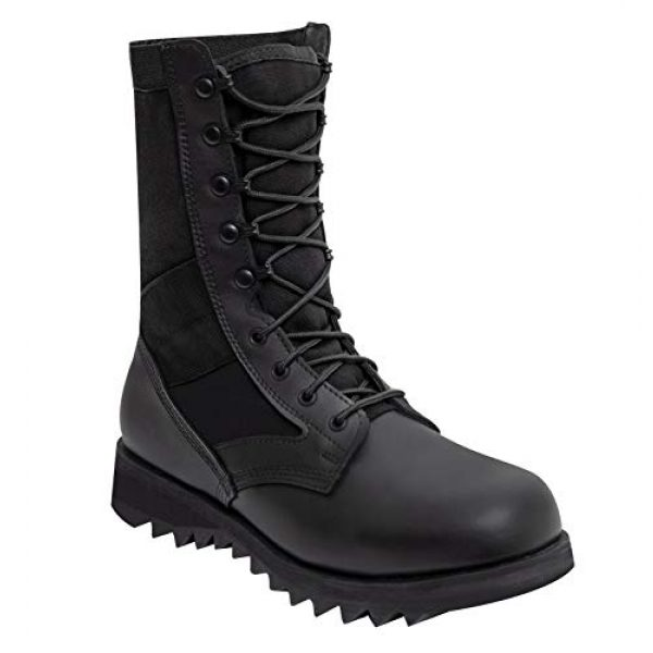 Rothco Combat Boot 1 Black Ripple Sole Jungle Boots