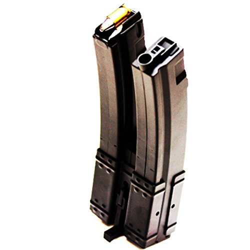 Airsoft Shopping Mall  1 Airsoft Shooting Gear 3pcs Pack CYMA 560rd Hi-Cap Long Dual Magazine for MP5-Series AEG Black