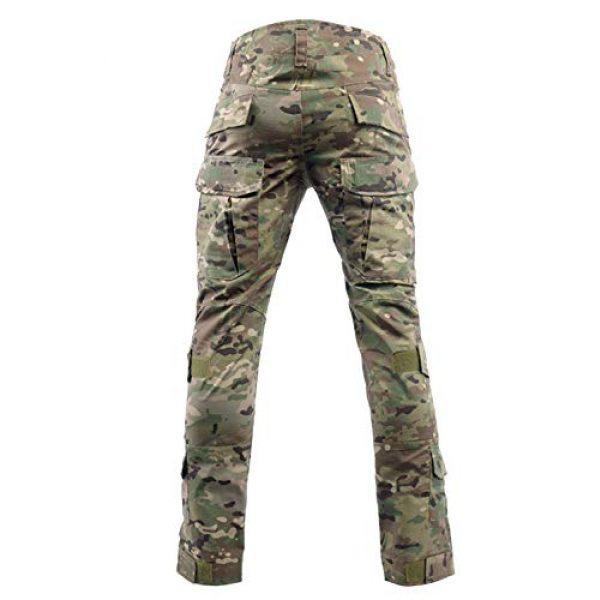 LANBAOSI Tactical Pant 2 Men's Airsoft Pants Multicam Tactical Military Camo Hunting Combat Cargo Uniform Pants