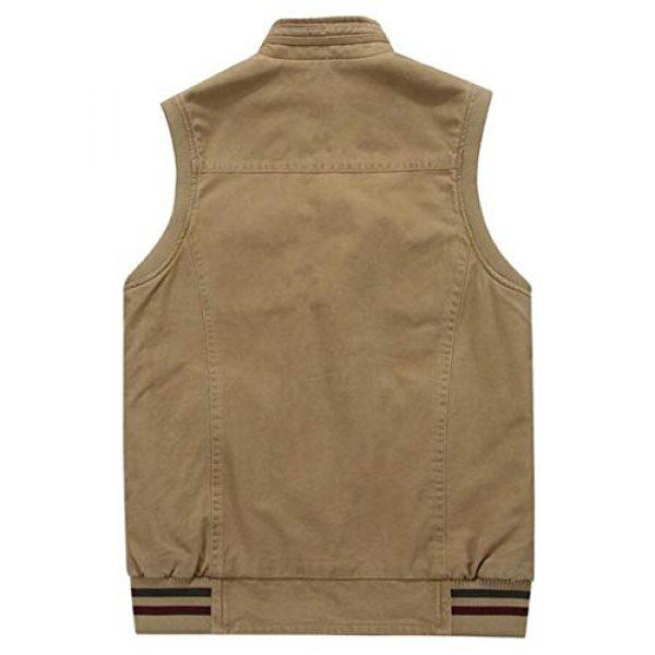 DAFREW Airsoft Tactical Vest 2 DAFREW Vest,Double-Sided wear Sleeveless Jacket Multi-Pocket Fishing Vest Jacket Wearing Vest Casual Jacket (Color : Army Green, Size : XXXL)