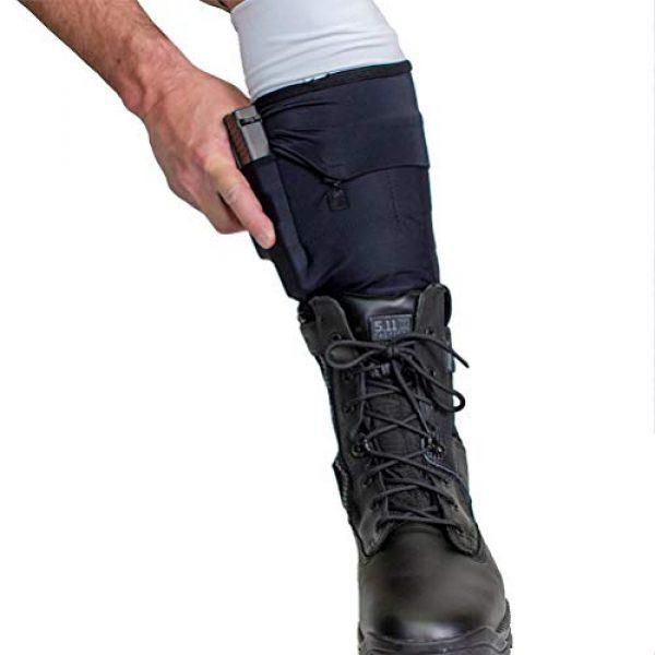 Cheata Airsoft Gun Holster 2 Cheata Tactical Gun Sox Black Leg Holstering System